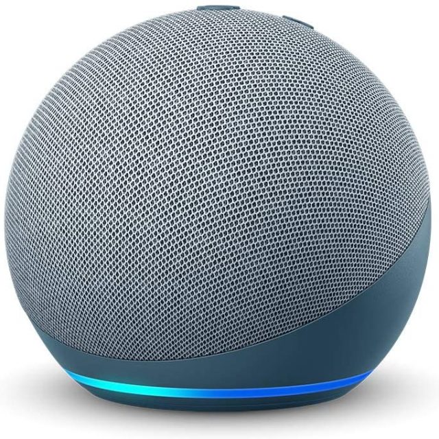 Amazon's All-New Echo Dot (4th Gen) | Portable Smart speaker with Alexa only