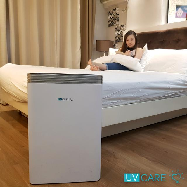 UV Care Clean Air 6-in-1 Air Purifier with HEPA filter and UVC Germicidal Lamp for Sanitation, Sterilization and Disinfection