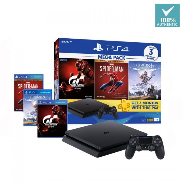 PlayStation 4 Slim 1TB Console and Fortnite Video Game Bundle