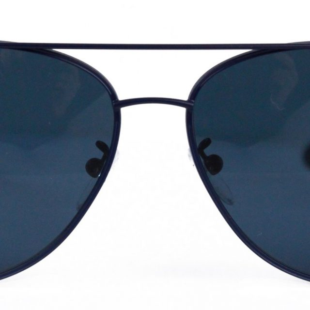 Police SPL344 1HLP Aviator Sunglasses Blue Polarized Lens with UVA and UVB Protection