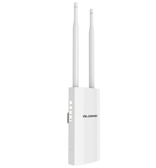 Comfast High Power Wireless Wi-fi Router 500mW 300M-1200Mbps Outdoor AP Wide-Area Wi-Fi Amplifier With 360-Degree Omni-direction Antenna